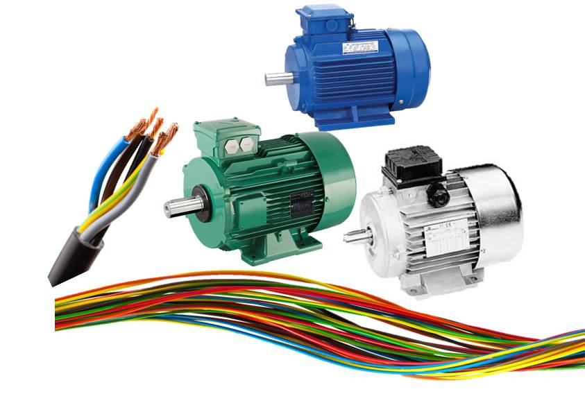 Electrical power transmission for Castellano electric motors inc