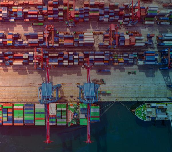 Puertos y transporte